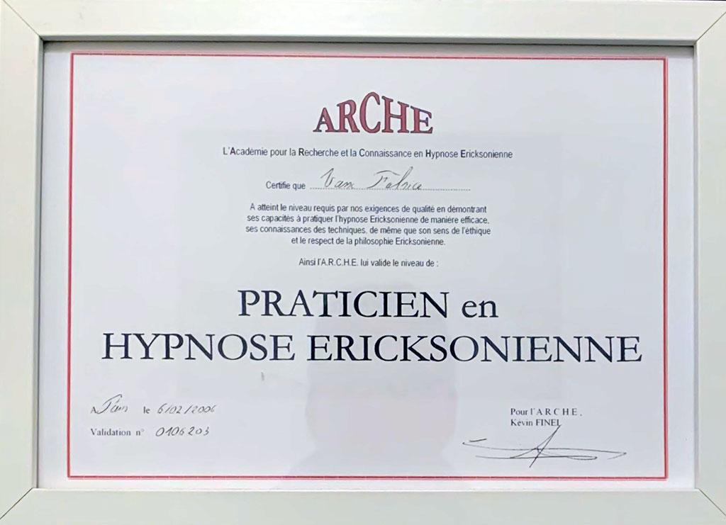 diplome hypnose fabrice vasse